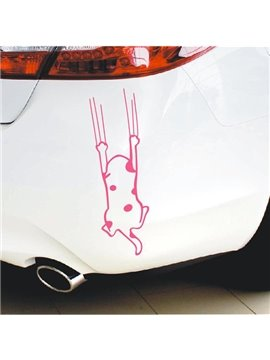 Cute And Funny Cat Claw Creative Car Sticker