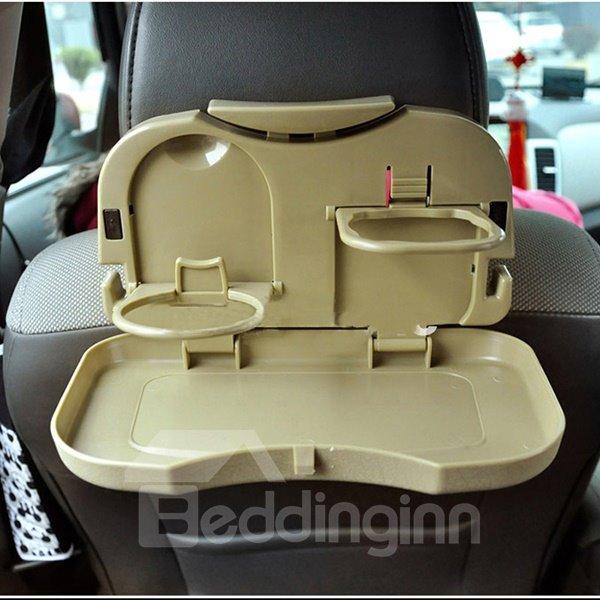 Necessary Folding Plastic Car Backseat Organizer