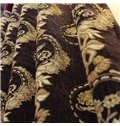 Top Class Chenille Jacquard High Shading Degree Grommet Top Curtain