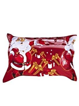 Christmas Gift 100% Cotton One Pair Pillowcases