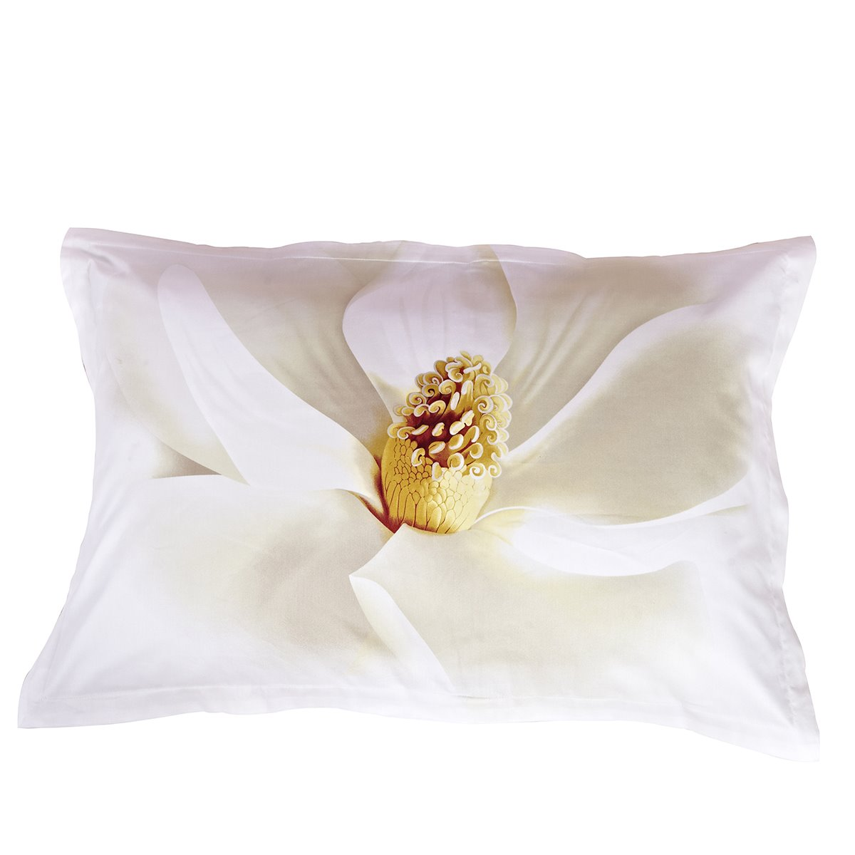 White Flower All Cotton Skin Care One Pair Pillowcases