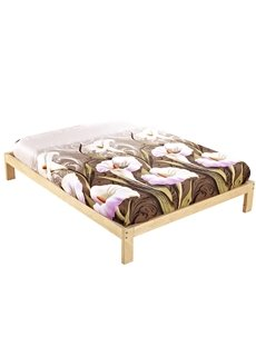 The Calla Lily Printing Cotton Fitted Sheet