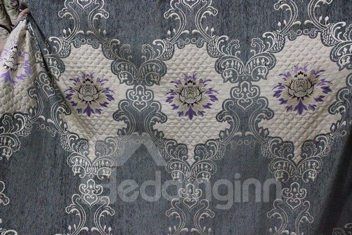Pretty High Precision Chenille High Shading Degree Polyester Curtain