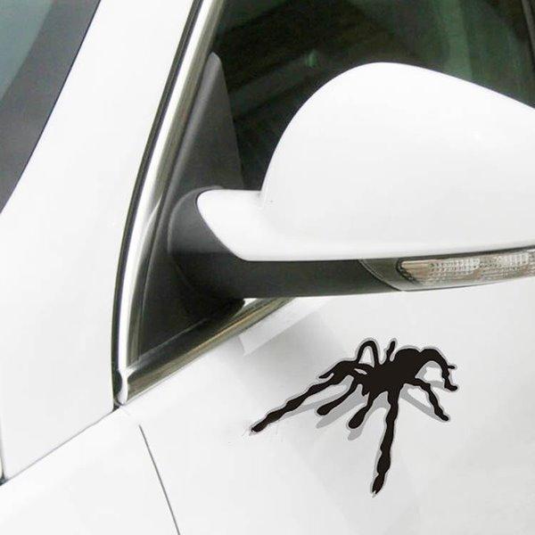 Creative And Funny 3D Magic Black Car Sticker