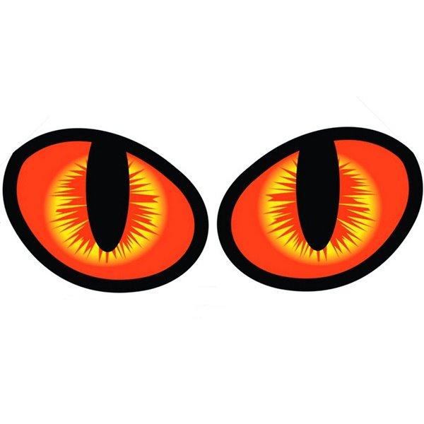 Super Cool Cat Eyes Car Sticker