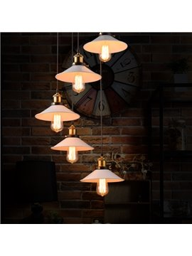 Nordic Retro Creative Bar Restaurant Loft Decoration 5-Head Pendant Lights