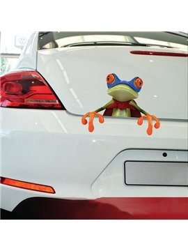 Super Frog Car Truck Sticker