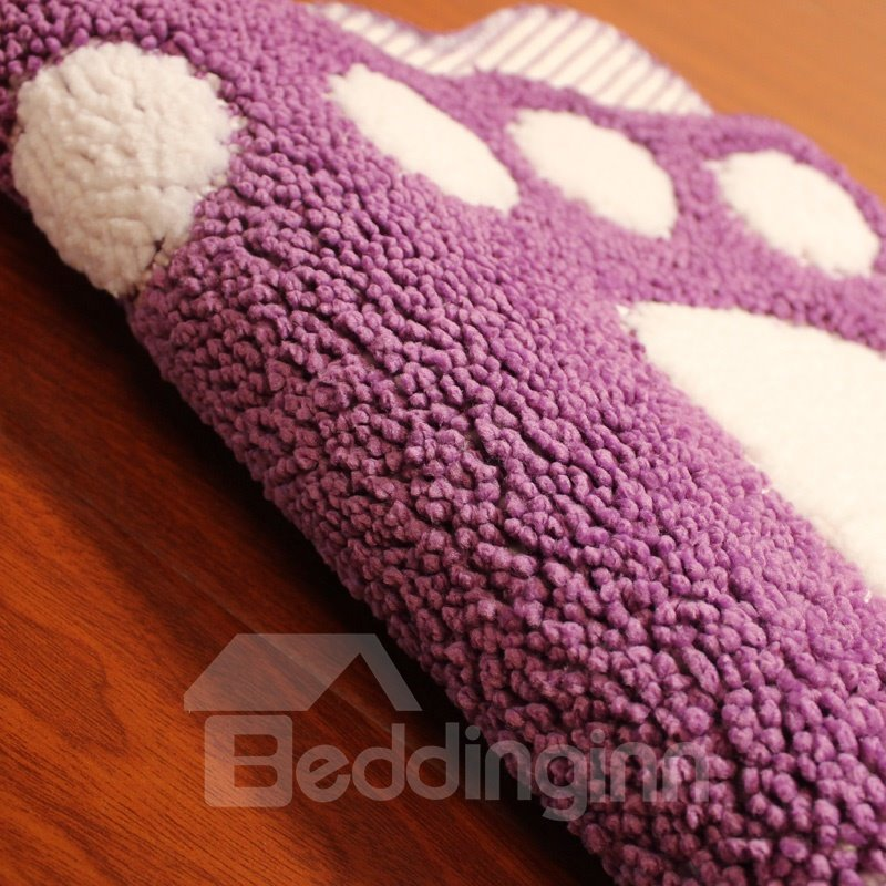 Cute Cartoon Big Foot Area Rug Bedroom Door Floor Mat