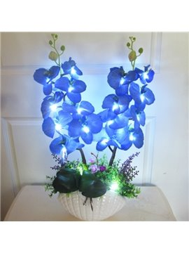 Romantic Creative Colorful Blossom Flower Sets Design LED Lamp