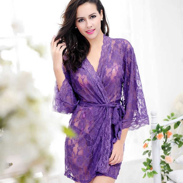 Summer Sexy Attractive Lace Transparent  Women
