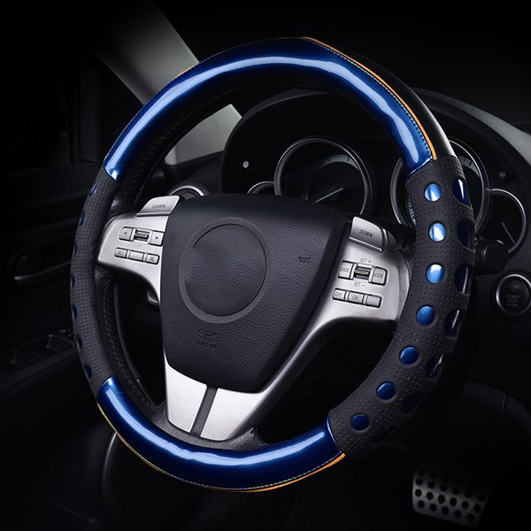 Bright Leather And Slip Resistance Gel Steering Wheel ...