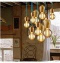 Nordic Creative Dininig Room Wood Pendant Light