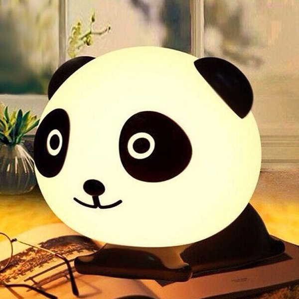Cute Panda Lie on its Belly Energy Saving Night Lamp