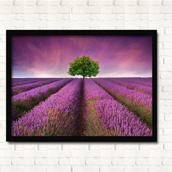 Dreamy Lavender Field Wall Prints