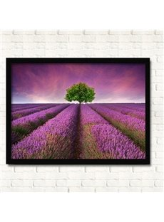 Dreamy Lavender Field Wall Prints