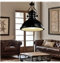 Retro American Country Style Creative Bowl Shaped Pendant Lights