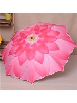 Gorgeous Pure Lotus Sun Umbrella