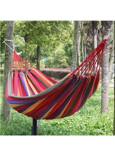 Super Weight Capacity Nylon and Nylon Webbing Single Hammock