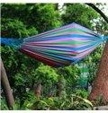 Bright Color Leisure Style Canvas Outdoor Hammock