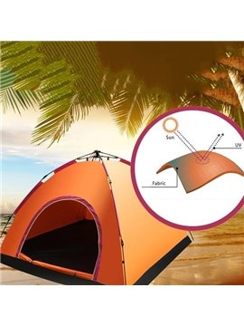 Outdoor 3-4 Person Waterproof Automatic Instant Camping Tent
