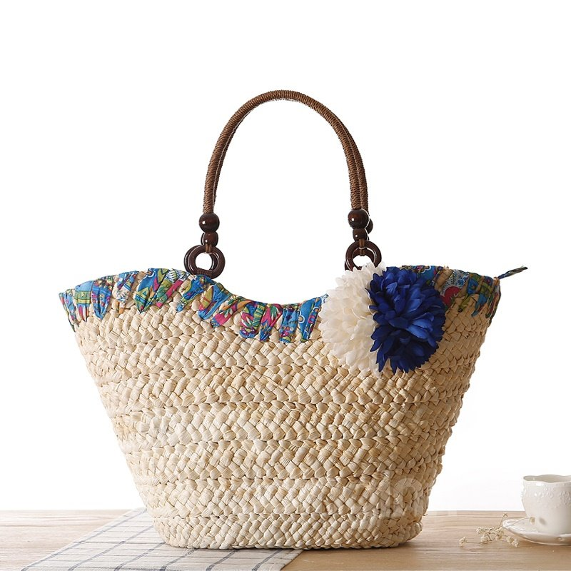 Creative Bohemian Straw Plaiting Shoulder Bag