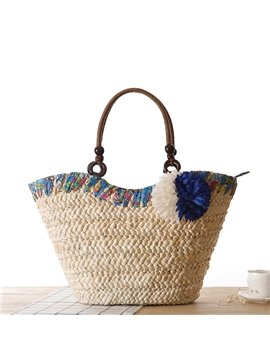 Creative Bohemian Straw Plaiting Shoulder Bag