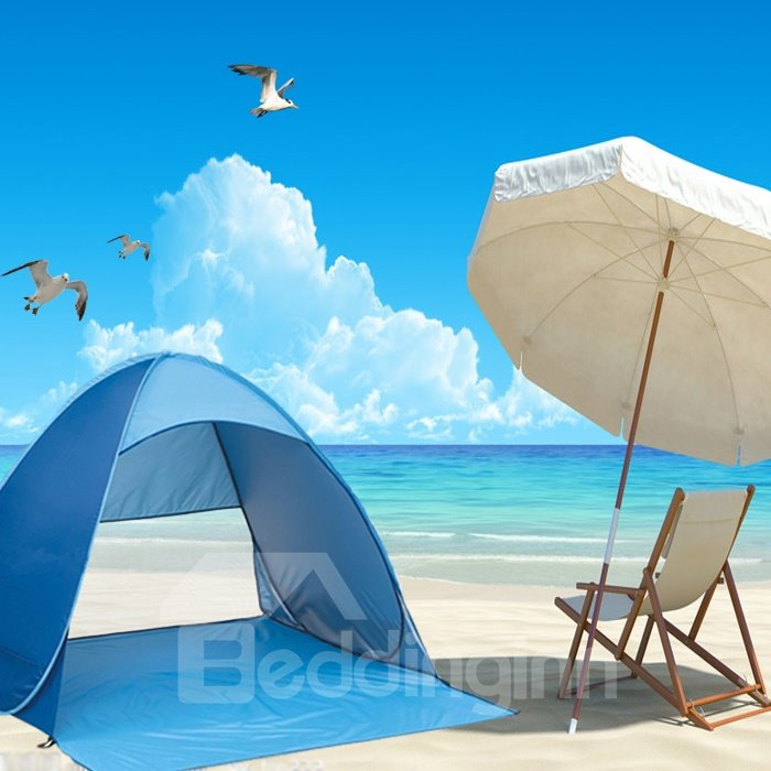 Outdoor 2-Person Lightweight and Waterproof UV-Protection Beach