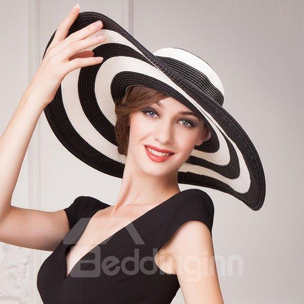 Fashion Broad Brim Women