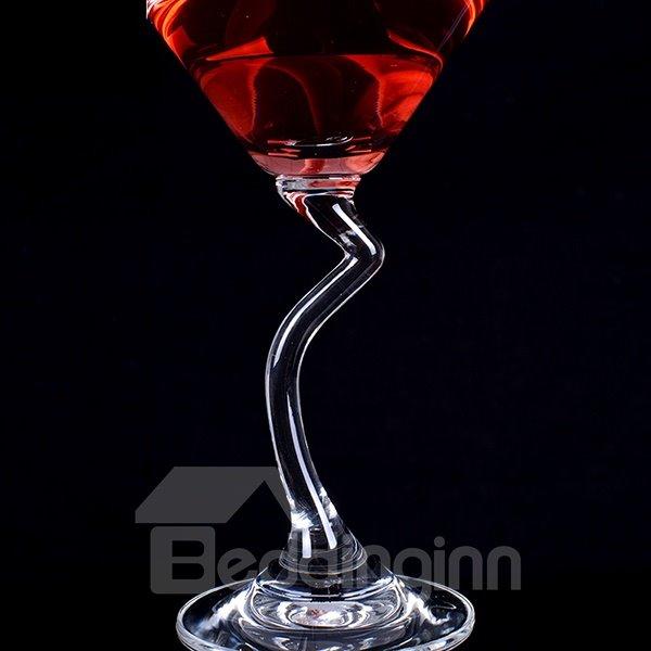 Creative Z-Stem Martini Glass Cocktail Glass 1-Piece