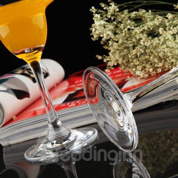 Simple Tall Stem Margaritas Cocktail Glass Juice Glass