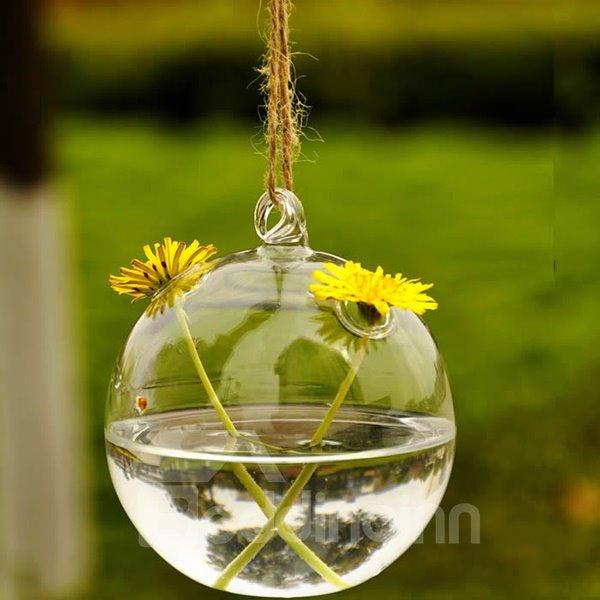 Ball Shape Hanging Flower Vase