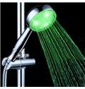 Amazing  Temperature Control LED Chrome Rainfall Shower Head