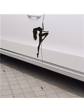 Creative Sexy Dancing Lady Charming Creative Car Sticker