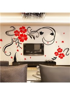 Gorgeous Floral 3D Wall Sticker Wall Art Decal