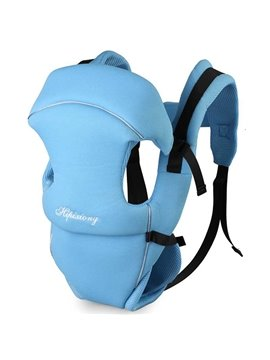 Simple Lovely Blue Four Position Baby Carrier