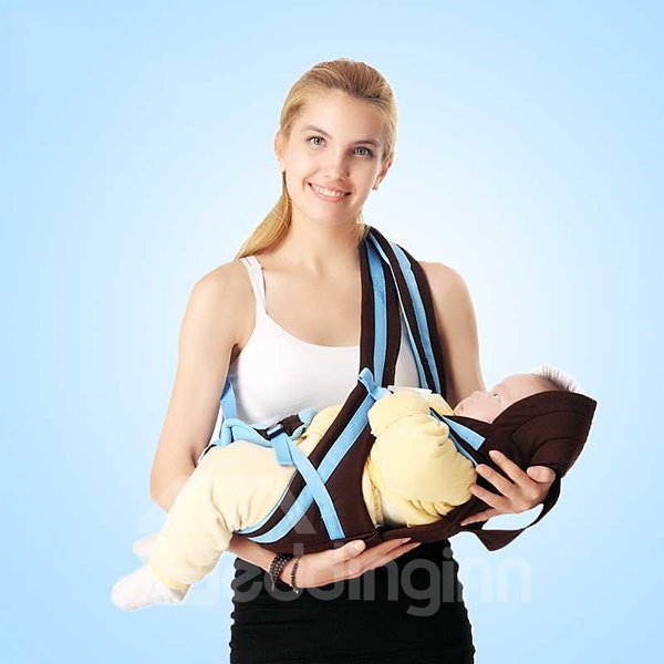 Cozy Blue Strap Four Positions Baby Carrier