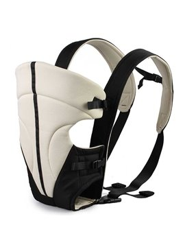 Simple Comfortable Khaki Baby Hip Seat Front Carrier