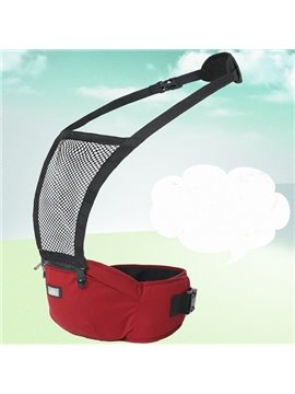 Comfortable Durable Red Cotton Baby Sling Carrier