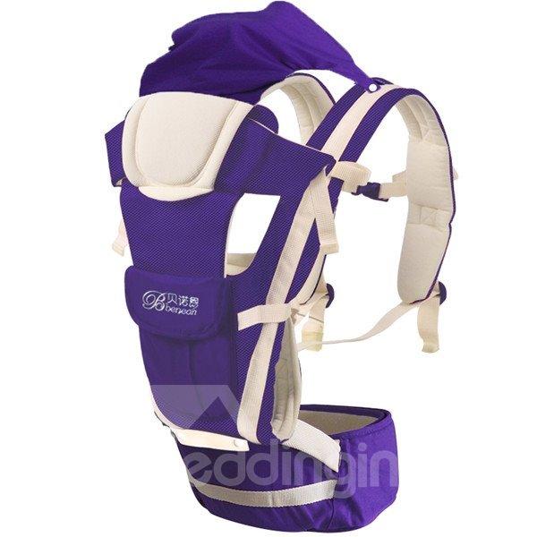 Bundle of Joy Windproof Comfortable Purple Baby Carriers
