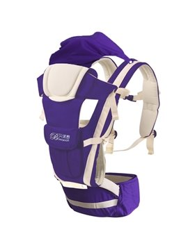 Bundle of Joy Windproof Comfortable Purple Baby Carriers