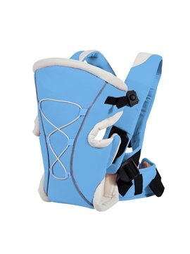 Three Different Carry Positions Lovely Blue Baby Carrier for Infant