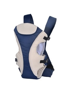 New Style Three Carry Ways Blue and White Baby Carrier