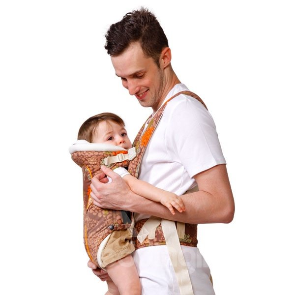 Comfortable Breathing Multi Functional Cotton Baby Carrier