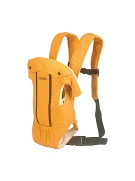 Adjustable Useful Four Positions Orange Baby Carrier