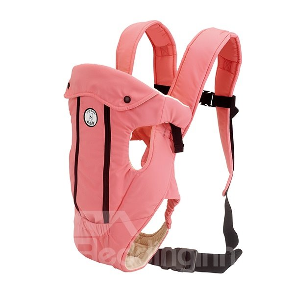 Adjustable Useful Four Positions Light Pink Baby Carrier
