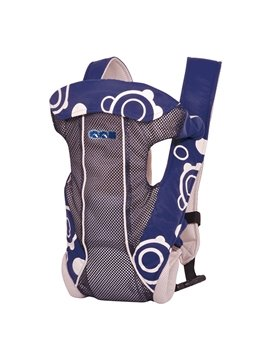 Adjustable Convenient Four Positions Dark Blue Baby Carrier