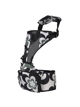 Upgrated Multi Functional Black Color Baby Hip Seat and Carrier