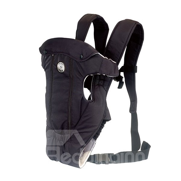 Upgraded Four Positions Black Color Baby Carrier