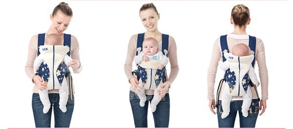 Gorgeous Handy Multifunctional Red Color Baby Carrier