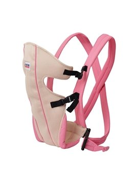 Easy to Use Lovely Pink Color Baby Carrier for Infant